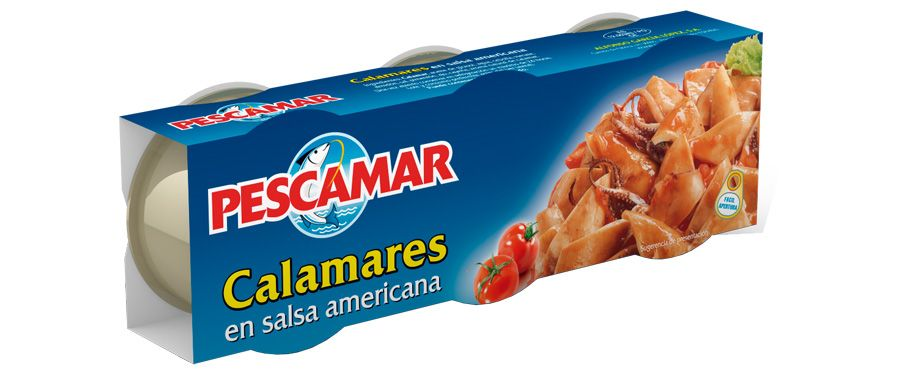 Calamares en salsa americana RO-85 FA P-3