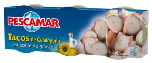 Tacos de cefalópodos en aceite de girasol RO-85 FA P-3