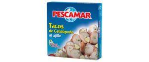 Tacos de cefalópodos al ajillo OL-120 FA