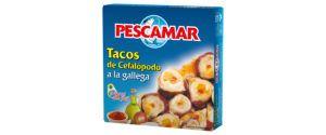 Tacos de cefalópodos a la gallega OL-120 FA