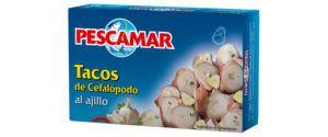Tacos de cefalópodos al ajillo RO-280 FA
