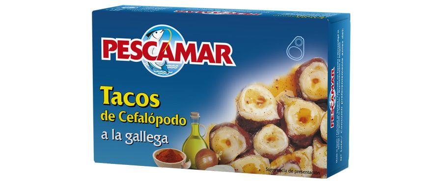 Tacos de cefalópodos a la gallega RO-280 FA